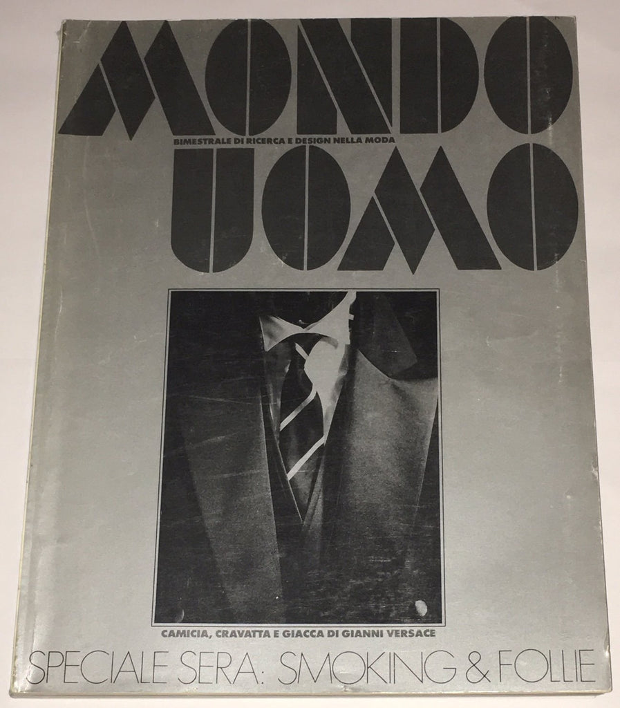 MONDO UOMO Magazine November 1984 Andy Warhol Reportage ITALIAN Fashion