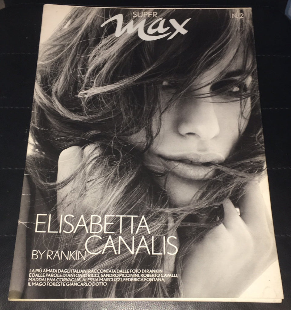 ELISABETTA CANALIS by Rankin Giant Photo Book Issued by Max Magazine PHOTOBOOK