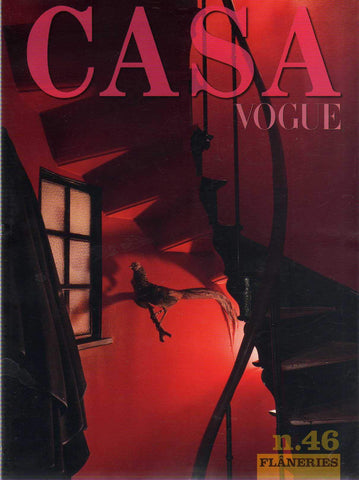 CASA VOGUE 46 Magazine October 2016 Vintage Interior Design & Trends JAMES BROWN - magazinecult