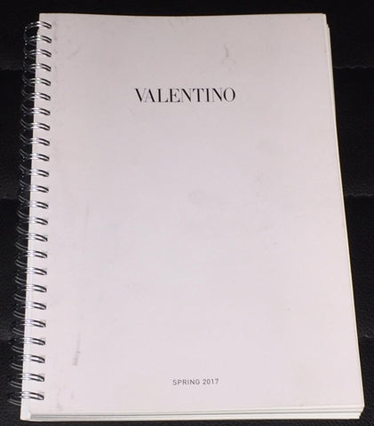 VALENTINO Catalog LOOK BOOK Spring 2017 not Magazine
