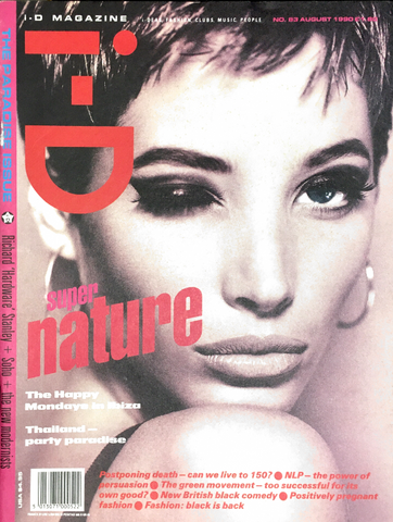 iD I-D Magazine August 1990 The Paradise issue #83 CHRISTY TURLINGTON