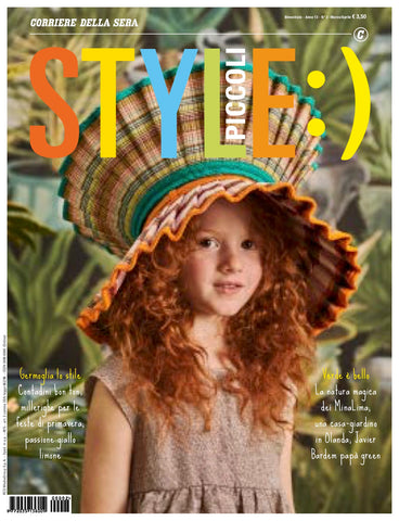 STYLE Piccoli Kids Children Enfant Fashion Magazine March 2020 BRAND NEW