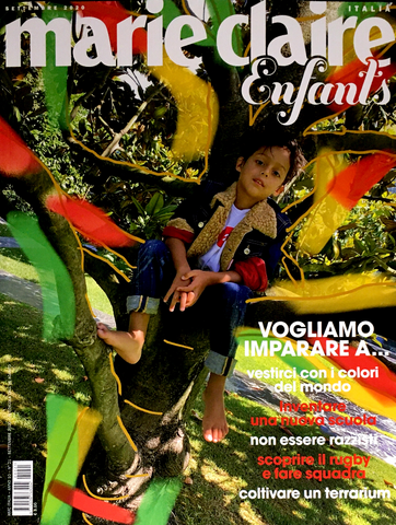 MARIE CLAIRE Italia September 2020 Kids BAMBINI Children Enfants Fashion Magazine