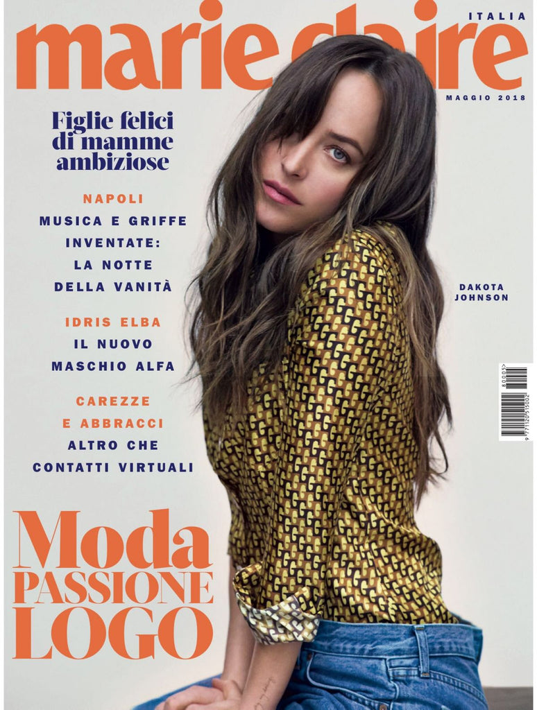 MARIE Claire Magazine ITALY May 2018 DAKOTA JOHNSON Jean Campbell FIFTY SHADES OF GREY