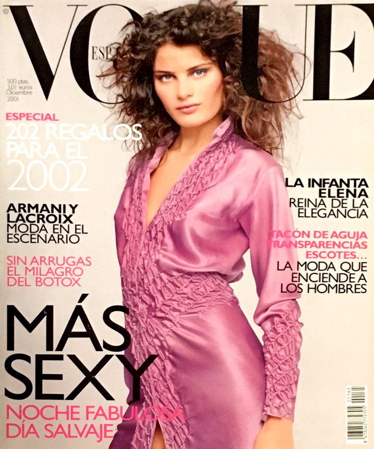 VOGUE Spain Magazine December 2001 ISABELI FONTANA by NACHO PINEDO Ninos - magazinecult