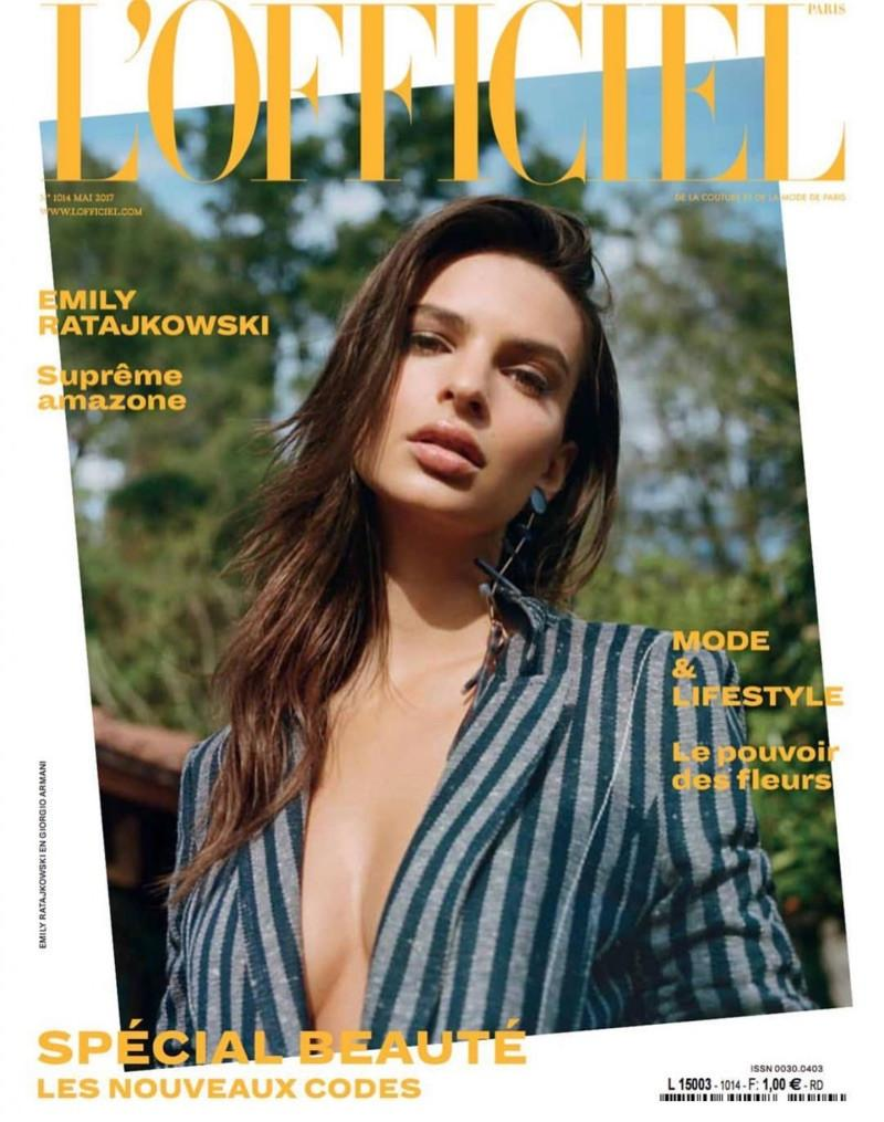 L'OFFICIEL Paris Magazine May 2017 EMILY RATAJKOWSKI Marthe Wiggers