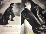 VOGUE Italia Magazine October 1983 LAUREN HELM Christine Bolster BONNIE BERMAN Jeny Howorth