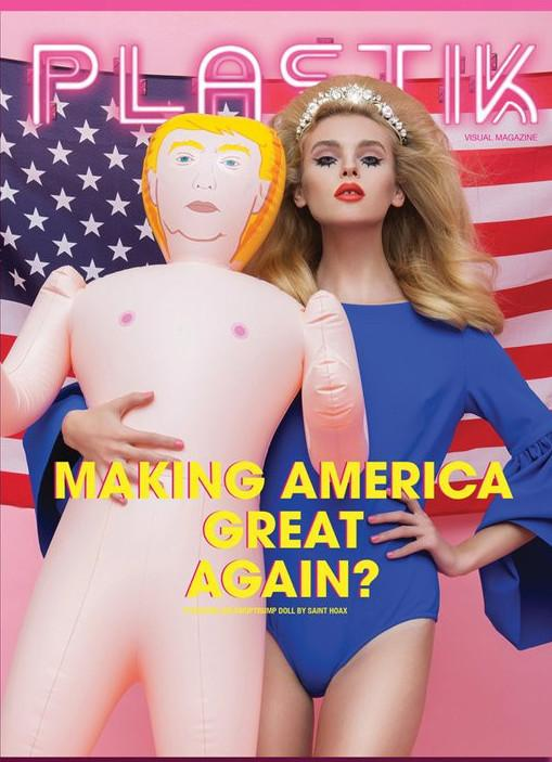 PLASTIK Visual  MAGAZINE 26 Fall 2015 Blowuptrump Doll SEALED Fall 2015