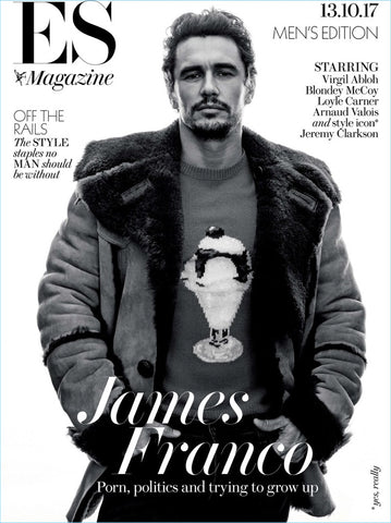 ES Magazine October 2017 JAMES FRANCO Blondey McCoy ARNAUD VALOIS Loyle Carner