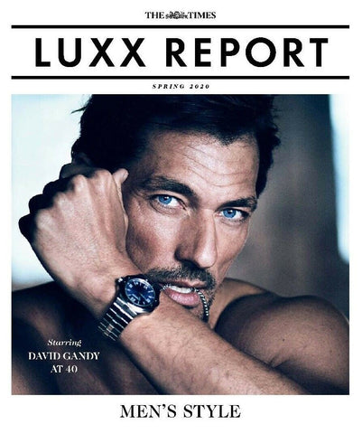 LUXX Report Magazine February 2020 DAVID GANDY by Boo George