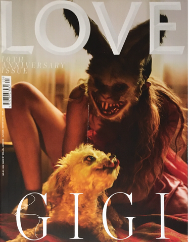 LOVE Magazine #20 Fall 2018 GIGI HADID Kaia Gerber MILLA JOVOVICH 10th Anniversary Issue