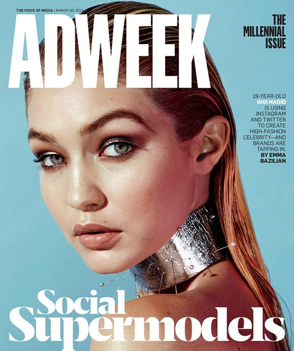 ADWEEK Magazine March 2015 GIGI HADID The Millennial Issue ALEXEI HAY