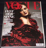 VOGUE Germany Magazine December 2007 LISA CANT Toni Garrn JULIA RYNDICH