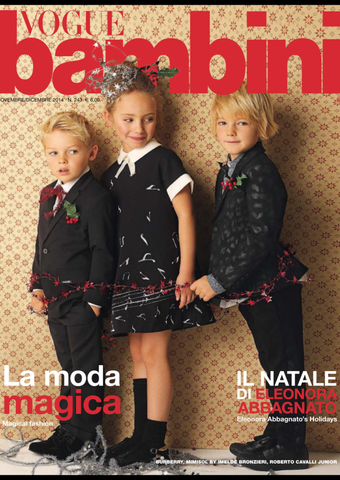 VOGUE BAMBINI Kids Children Enfant Fashion ITALIA Magazine November 2014