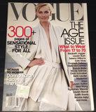 VOGUE US Magazine August 2001 AMBER VALLETTA Kate Moss ANGELA LINDVALL Carine Roitfeld