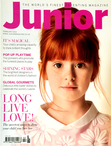 JUNIOR Magazine Bambini Kids Children Ninos Enfant Fashion FEBRUARY 2012