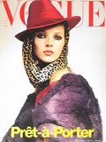 VOGUE Italia Magazine March 1996 KATE MOSS Naomi Campbell GUINEVERE VA SEENUS