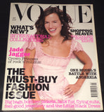 VOGUE UK Magazine September 2002 JADE JAGGER Bridget Hall ANGELA LINDVALL Anne V