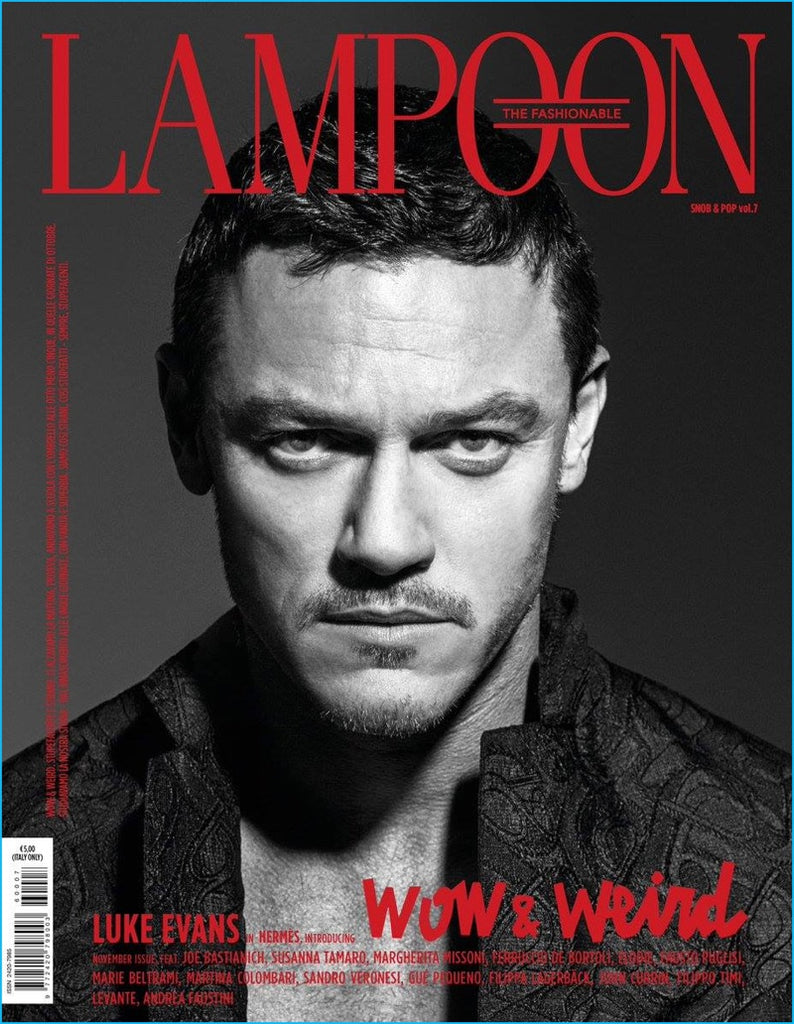 LAMPOON Magazine issue 7 LUKE EVANS Georgina Grenville AMANDA WELLSH Manon Leloup
