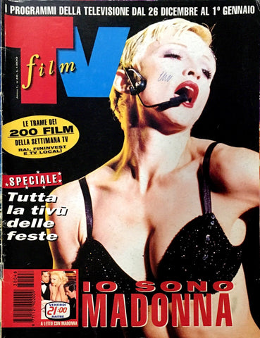 FILM TV Italia Magazine December 1993 MADONNA