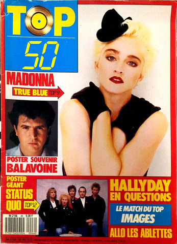 TOP 50 January 1987 MADONNA Madame X JOHNNY HALLYDAY