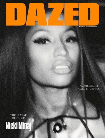 DAZED & CONFUSED Magazine 2017 NICKI MINAJ Araki CHARLOTTE GAINSBOURG