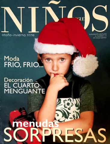 VOGUE Ninos SPAIN BAMBINI Kids Children Magazine Fall/WInter 1997