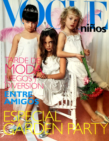 VOGUE Ninos SPAIN BAMBINI Kids Children Magazine 2004