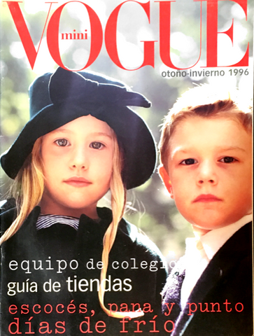 VOGUE MINI Ninos SPAIN BAMBINI Kids Children Magazine Fall/Winter 1996