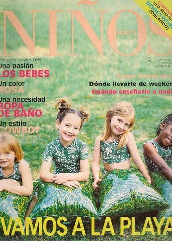 VOGUE Ninos SPAIN BAMBINI Kids Children Magazine Spring Summer 1998