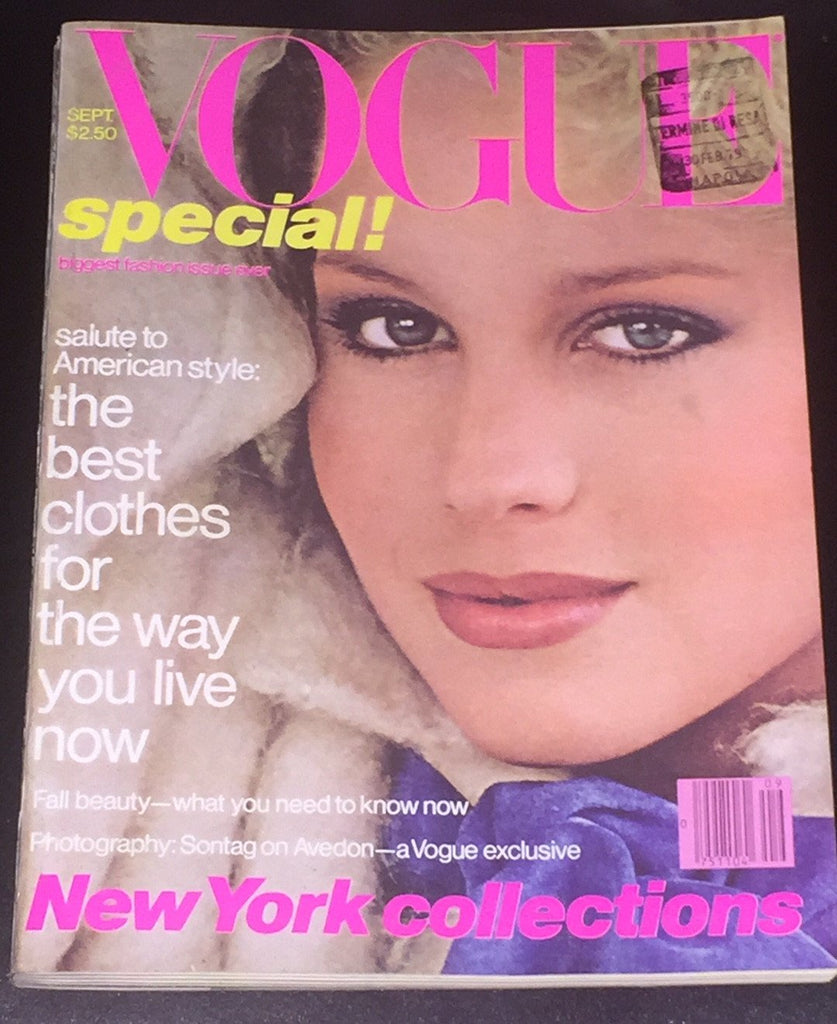 VOGUE US Magazine 1978 ROSIE VELA Rosemary McGrotha LISA RYALL Jerry Hall AVEDON