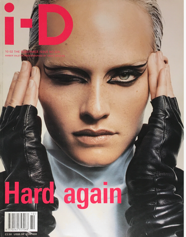 iD I-D Magazine October 2002 AMBER VALLETTA Angela Lindvall RIE RASMUSSEN Corinne Day