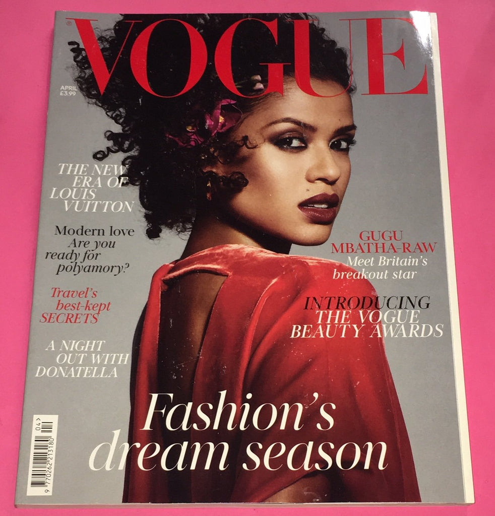 VOGUE UK Magazine April 2018 GUGU MBATHA-RAW Vittoria Ceretti ADWOA ABOAH