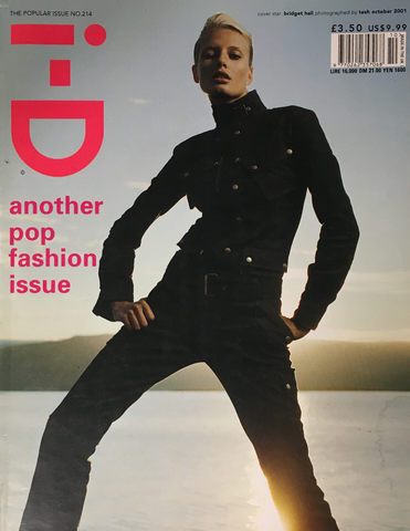 iD I-D Magazine October 2001 BRIDGET HALL Corinne Day TERRY RICHARDSON Natasa Vojnovic