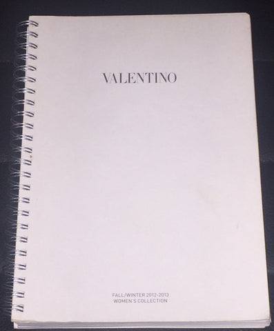VALENTINO Catalog LOOK BOOK Fall/Winter 2012 2013 not Magazine