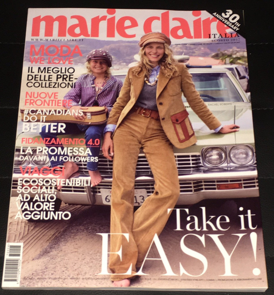 MARIE Claire Magazine Italy August 2017 RACHEL ROBERTS