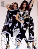 VOGUE Italia Magazine 1993 Fontana Couture Milano Supplement FRANKIE RAYDER