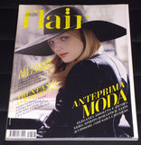 FLAIR Italia Magazine August 2005 GUINEVERE VAN SEENUS Heather Marks DEWI DRIEGEN