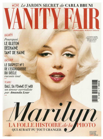 Vanity Fair French Magazine 2015 MARILYN MONROE Carla Bruni FRANCOISE SAGAN