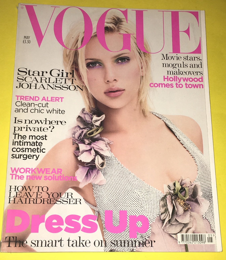 VOGUE UK Magazine May 2004 SCARLETT JOHANSSON Hana Soukupova JULIA STEGNER