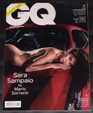 GQ Italia Magazine 2017 SARA SAMPAIO Matt Dillon BILLY BOB THORNTON Ferrari