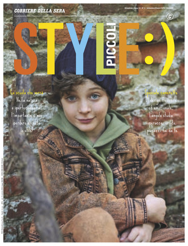 STYLE Piccoli Kids Children Enfant Fashion Magazine September 2020 BRAND NEW