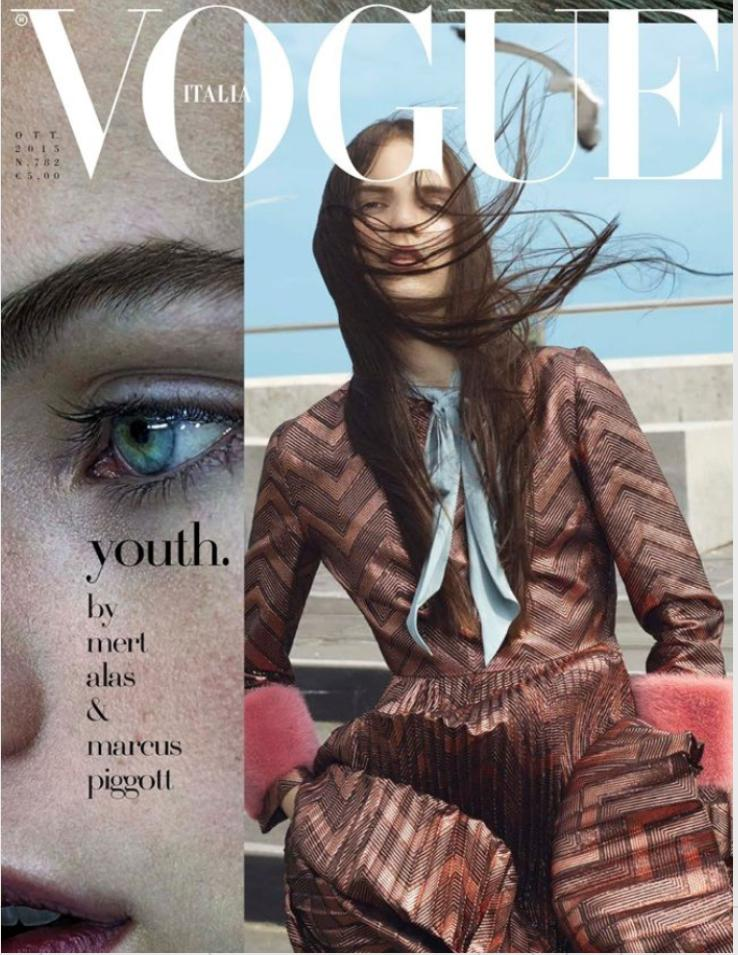 VOGUE Italia Magazine October 2015 ESTELLA BOERSMA Isabeli Fontana HEDVIG PALM