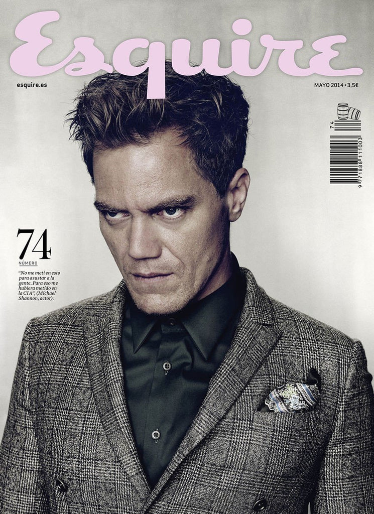 ESQUIRE Spain May 2014 MICHAEL SHANNON Clement Chabernaud KIT HARINGTON Jack Huston