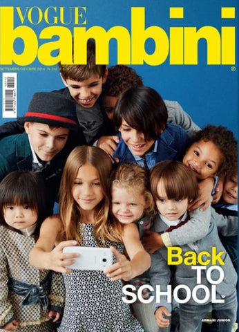VOGUE ITALIA BAMBINI Kids Children Enfant Fashion Magazine September 2014