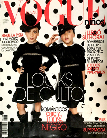 VOGUE Ninos SPAIN BAMBINI Kids Children Magazine Fall Winter 2009