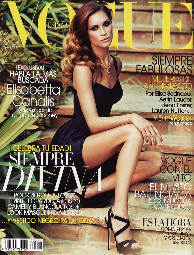 VOGUE Spain Magazine June 2011 ERIN WASSON Andres Velencoso ELISA SEDNAOUI