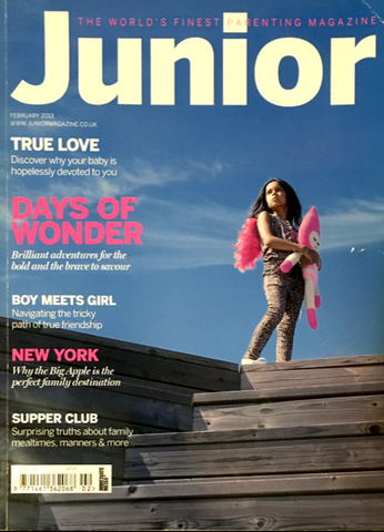 JUNIOR Magazine Bambini Kids Children Ninos Enfant Fashion FEBRUARY 2013