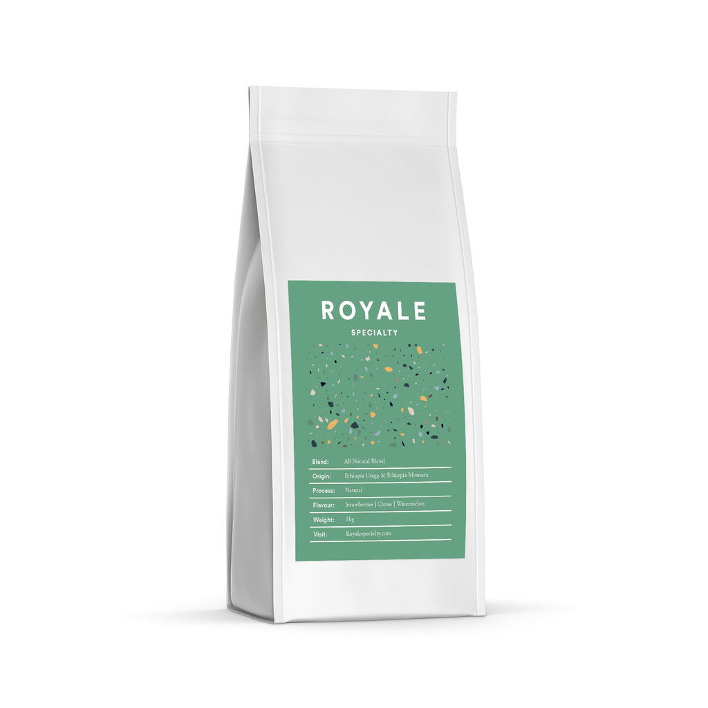 ALL NATURAL ESPRESSO BLEND - 250g