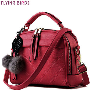 FLYING BIRDS! 2017 women leather handbag of brands women messenger bags cross body ladies shoulder shoulder bag bolsos LM3918fb